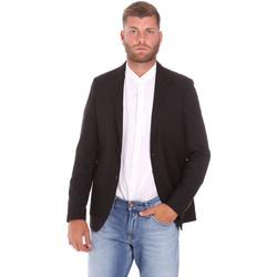 Textiel Heren Jacks / Blazers Sseinse GAE701SS Zwart