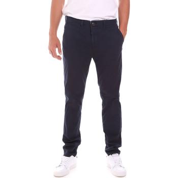 Textiel Heren Broeken / Pantalons Lumberjack CM80647 006EU Blauw