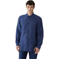 Textiel Heren Overhemden lange mouwen Trussardi 52C00212-1T002248 Blauw