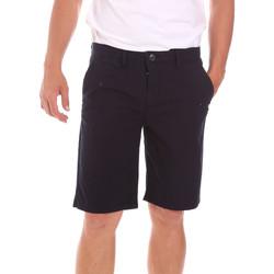 Textiel Heren Korte broeken / Bermuda's Lumberjack CM80648 002EU Zwart