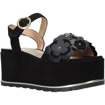 Schoenen Dames Sandalen / Open schoenen Docksteps DSE104973 Zwart