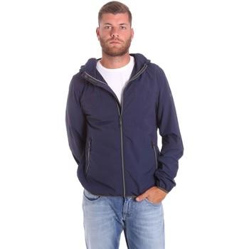 Textiel Heren Wind jackets Lumberjack CMB3223 001EU Blauw