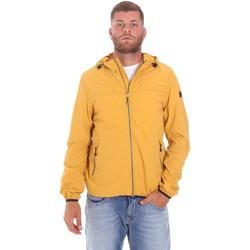 Textiel Heren Wind jackets Lumberjack CMB3223 001EU Geel