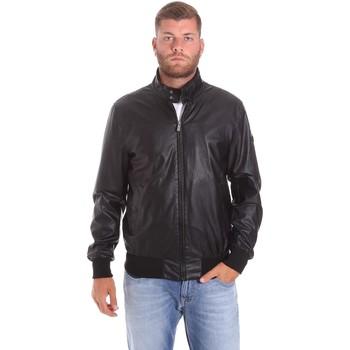 Textiel Heren Wind jackets Lumberjack CMB3124 001EU Zwart