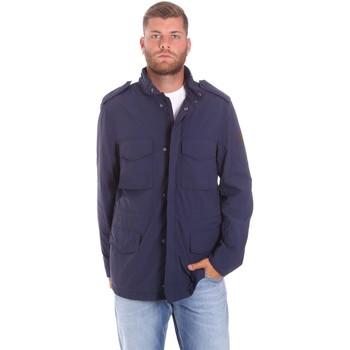 Textiel Heren Parka jassen Lumberjack CM68821 002EU Blauw