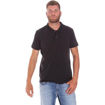 Textiel Heren Polo's korte mouwen Lumberjack CM45940 017EU Zwart