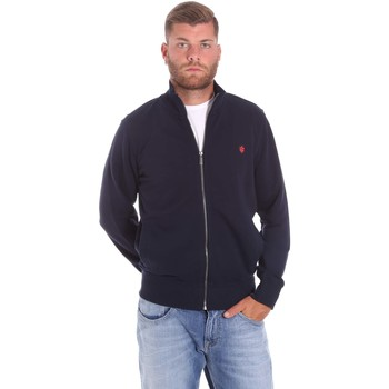 Textiel Heren Vesten / Cardigans Lumberjack CM60142 018EU Blauw