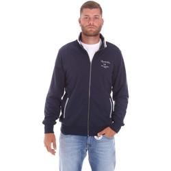 Textiel Heren Sweaters / Sweatshirts Key Up 2F451 0001 Blauw
