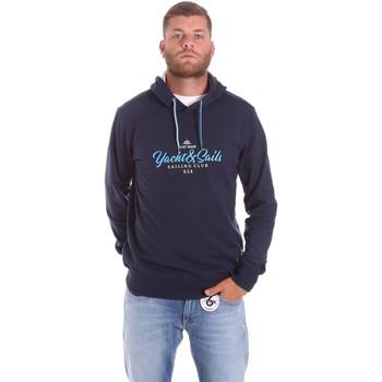 Textiel Heren Sweaters / Sweatshirts Key Up 2F453 0001 Blauw