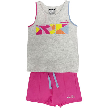 Textiel Kinderen Trainingspakken Diadora 102175900 Grijs