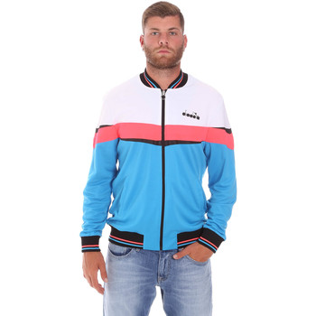 Textiel Heren Trainings jassen Diadora 102175669 Blauw