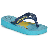 Schoenen Jongens Slippers Havaianas KIDS TOP POKEMON Blauw