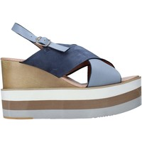 Schoenen Dames Sandalen / Open schoenen Onyx S20-SOX758 Blauw