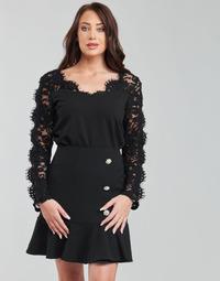 Textiel Dames Tops / Blousjes Moony Mood PABSCONE Zwart