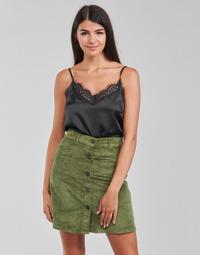 Textiel Dames Tops / Blousjes Moony Mood PABZAC Zwart