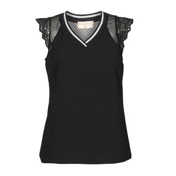 Textiel Dames Tops / Blousjes Moony Mood PACCOLAN Zwart