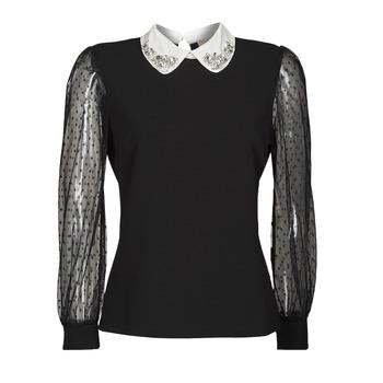Textiel Dames Tops / Blousjes Moony Mood PACHAN Zwart