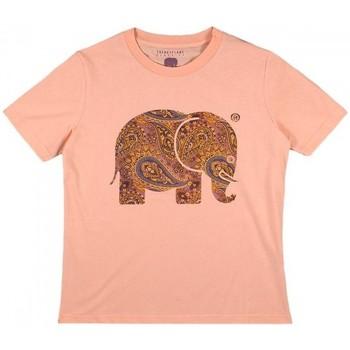 Textiel Dames Overhemden Trendsplant CAMISETA MUJER  029970WPTP Orange