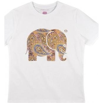 Textiel Dames Overhemden Trendsplant CAMISETA MUJER  029940WPTW Wit