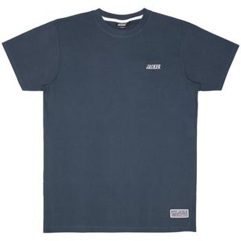 Textiel Heren T-shirts korte mouwen Jacker Classic logo Blauw