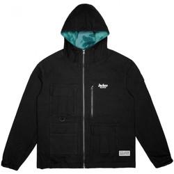 Textiel Heren Wind jackets Jacker Money makers jacket Zwart