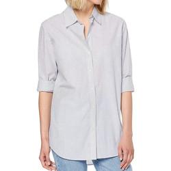 Textiel Dames Overhemden Scotch & Soda  Blauw