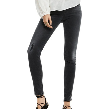 Textiel Dames Skinny Jeans Scotch & Soda  Zwart