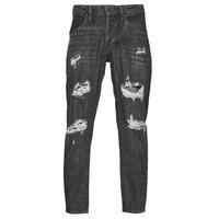 Textiel Heren Skinny jeans Jack & Jones JJIFRANK JJLEEN Zwart