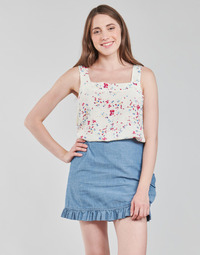 Textiel Dames Tops / Blousjes Vero Moda VMMILA Beige