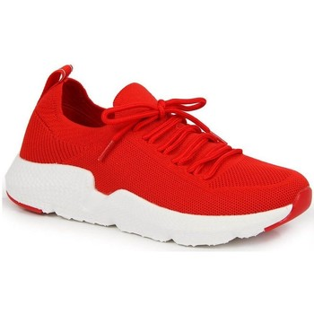 Schoenen Dames Lage sneakers American Club INT1099C Rouge