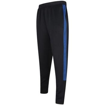 Textiel Heren Trainingsbroeken Finden & Hales LV881 Marine/Loyaal Blauw