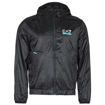 Textiel Heren Wind jackets Emporio Armani EA7 SOLLILA Zwart