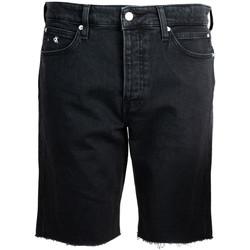 Textiel Heren Korte broeken / Bermuda's Calvin Klein Jeans  Zwart
