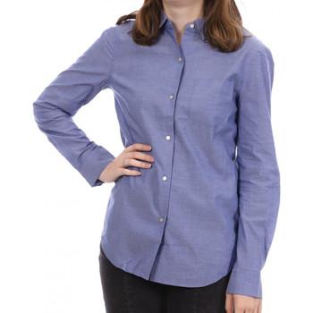 Textiel Dames T-shirts met lange mouwen Scotch & Soda  Blauw