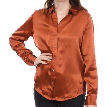 Textiel Dames Overhemden Scotch & Soda  Orange