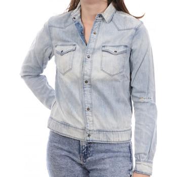 Textiel Dames Spijker jassen Scotch & Soda  Blauw