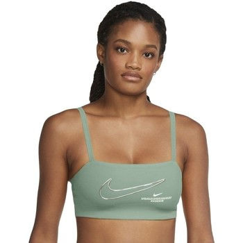 Textiel Dames Sport BHs Nike Dri-FIT Indy Groen