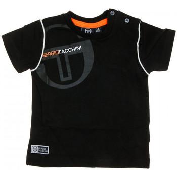 Textiel Heren T-shirts korte mouwen Sergio Tacchini  Zwart