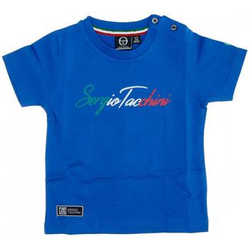 Textiel Heren T-shirts korte mouwen Sergio Tacchini  Blauw
