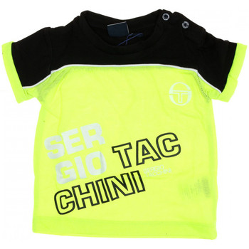Textiel Jongens T-shirts korte mouwen Sergio Tacchini  Geel