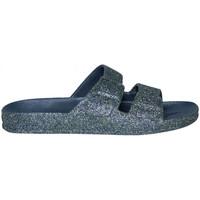 Schoenen Dames Leren slippers Cacatoès Trancoso Blauw