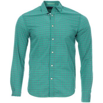 Textiel Heren Overhemden lange mouwen Scotch & Soda  Groen