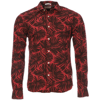 Textiel Heren Overhemden lange mouwen Scotch & Soda  Rood