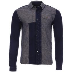 Textiel Heren Overhemden lange mouwen Scotch & Soda  Grijs