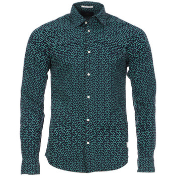 Textiel Heren Overhemden lange mouwen Scotch & Soda  Blauw