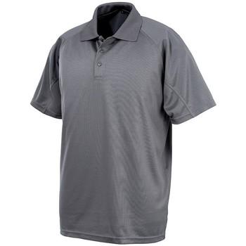 Textiel Heren Polo's korte mouwen Spiro S288X Grijs