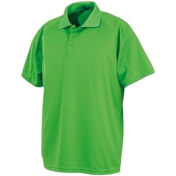 Textiel Heren Polo's korte mouwen Spiro S288X Kalk