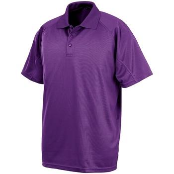 Textiel Heren Polo's korte mouwen Spiro S288X Paars