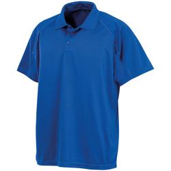 Textiel Heren Polo's korte mouwen Spiro S288X Koningsblauw