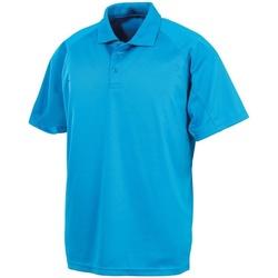 Textiel Heren Polo's korte mouwen Spiro S288X Oceaan